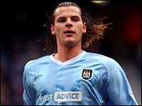 Manchester City defender Daniel van Buyten