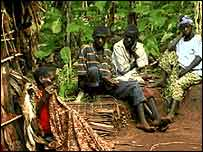 Congo forest dwellers