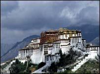 The Tibetan capital Lhasa
