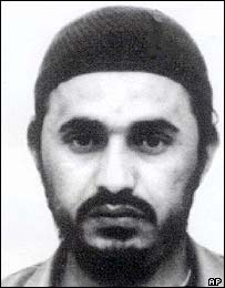 Abu Musab al-Zarqawi, suspect in Iraqi attacks
