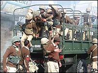 Soldiers in Quetta