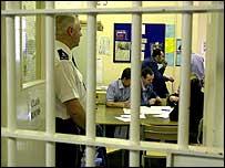 Classroom in prison