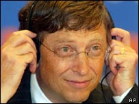 Former Microsoft boss Bill Gates