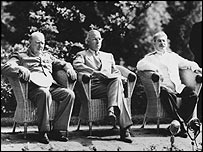 Churchill, Truman and Stalin