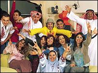 Contestants of Arabian Big Brother