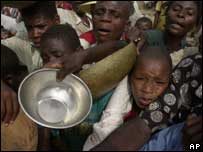 Los soldados argentinos se asombraron por el nivel de pobreza en Haití.