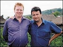 Peter Burdin and Fergal Keane