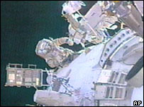 Spacewalk, AP