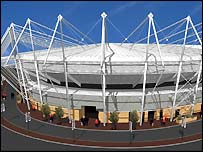 The Morfa Stadium will provide a new home for the Ospreys
