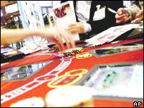 Vegas croupier