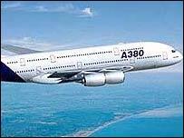 A380 Airbus superjumbo