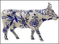 The cow that was stolen from Prague