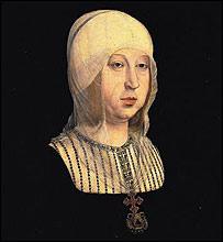 Reina Isabel la Católica, cuadro de Juan de Flandes