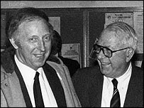 Arthur Scargill and Ian MacGregor