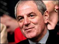 Former Glasgow Rangers and Everton manager Walter Smith