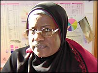 Rahmat Mohammad, of women's rights group Forward