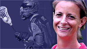 Wales lacrosse captain Catherine Coulthard