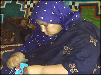A Saharawi woman