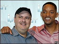 Alex Proyas and Will Smith