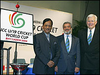The ICC are currently hosting the under-19 World Cup in Bangladesh