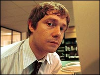 Martin Freeman shot to fame playing Tim in The Office
