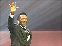 Brazil legend Pele has picked his top 100