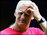 Palace manager Iain Dowie