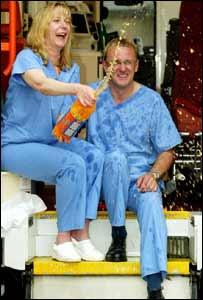 Karen Shand and her partner William Logan