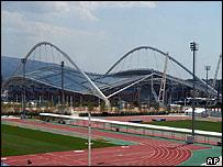 The main Athens Olympic Stadium
