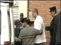 footballers arrested