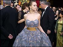 Oscar-nominated Samantha Morton at the Oscars