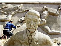 Estatua del barón De Coubertin