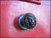 The door knocker at St Mark's rectory