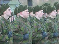 Finnish conscripts. Picture: The Finnish Defence Forces website