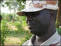 Chadian officer Major Abakar Mohammed Abdullah