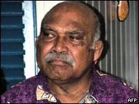 Fijian Vice President Jope Seniloli, June 2003