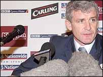 Wales manager Mark Hughes