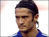 French defender Bixente Lizarazu