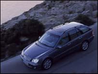 Mercedes Benz car, DaimlerChrysler