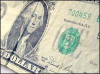 US dollar bill, BBC