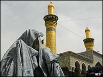 Shia woman in Karbala