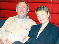 Keith Taylor and Caroline Lucas (pic courtesy of Green Party)