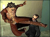 Screenshot from Enter the Matrix game