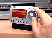 XM radio receiver
