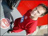 Noel Whelan is unveiled at Pittodrie