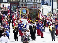 10,000 Apprentice Boys and 120 bands marched in Londonderry