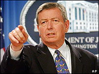 John Ashcroft, pictured in 2004