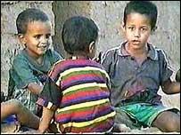 Sahrawi children