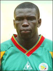 Senegal's Lamine Diatta