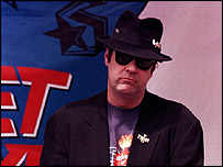 Blue Brother Dan Aykroyd
